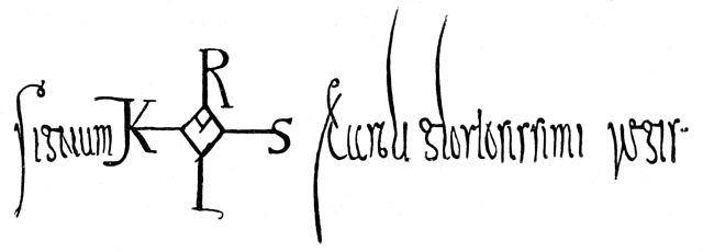 Signatur Kaiser Karl
