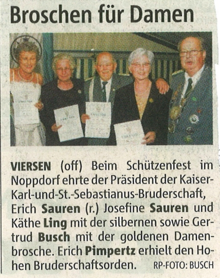 Rheinische Post Mai 2008